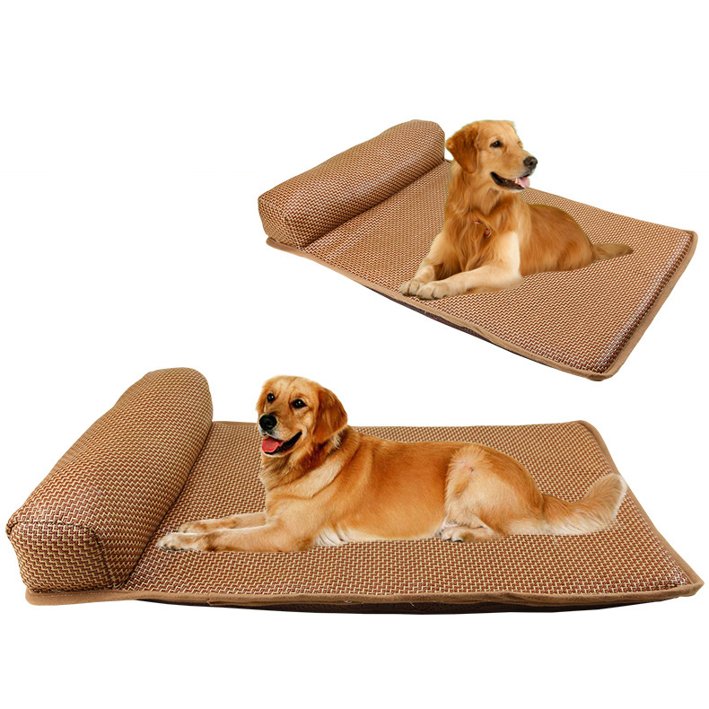 Comfortable Mattress with Headrest for Fur Parents