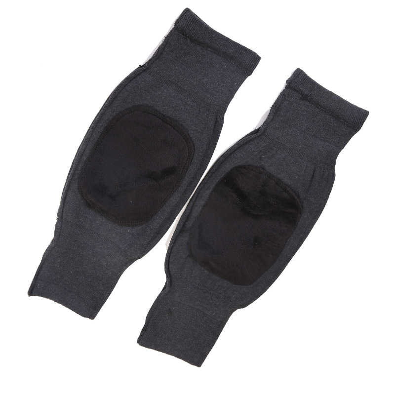 Thickened Double-Layer Polyester Knee Pads for Warmth