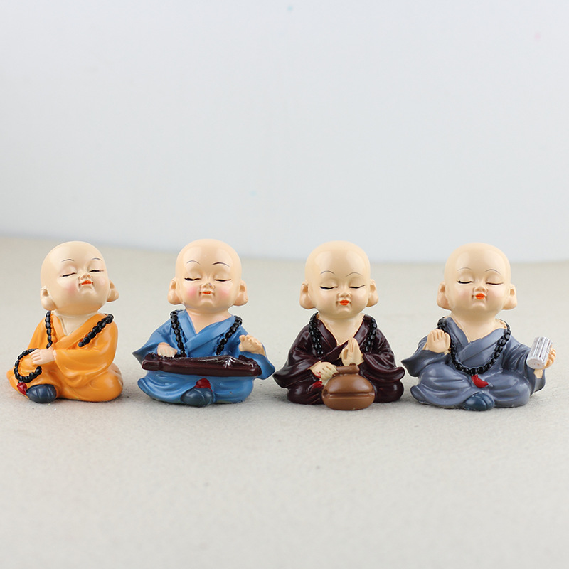 Baby Monk Dolls for Car Decoration