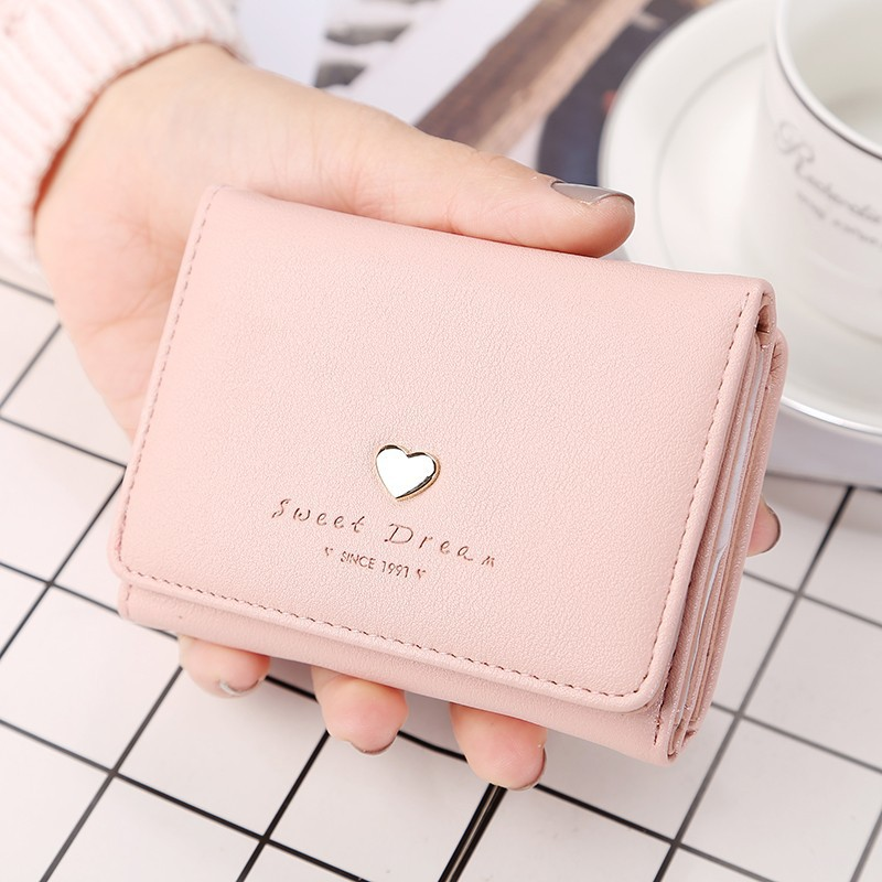Soft-Toned Small Wallet for Money and Cards