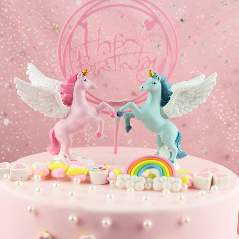 Cute Resis Pegasus Craft for Decorating Your Table