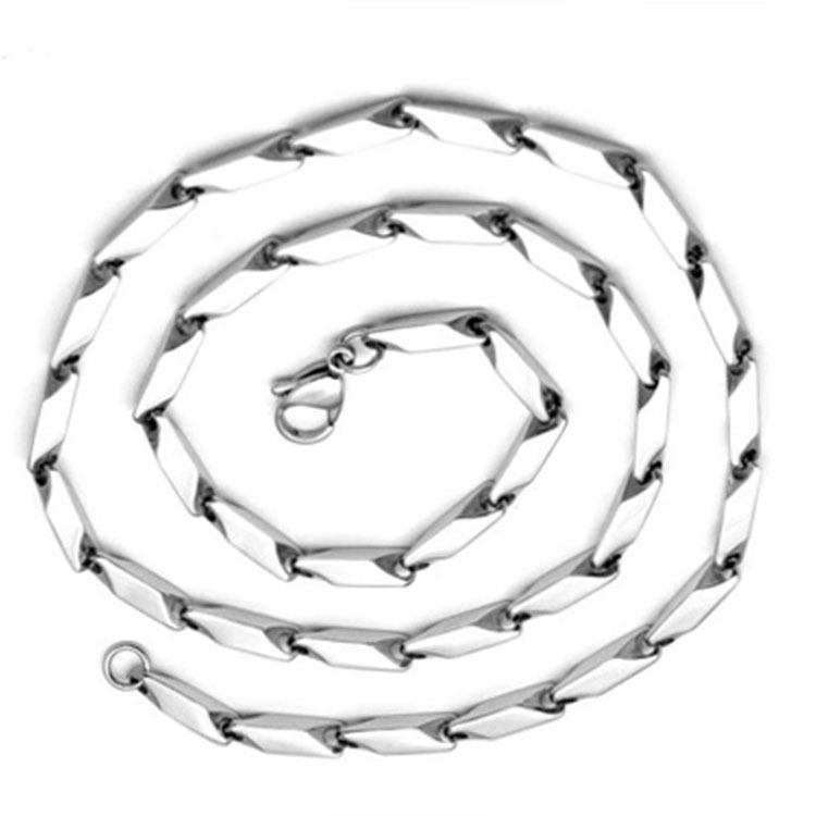 Titanium Steel Single Chain Necklace for Fashionable Street Wear