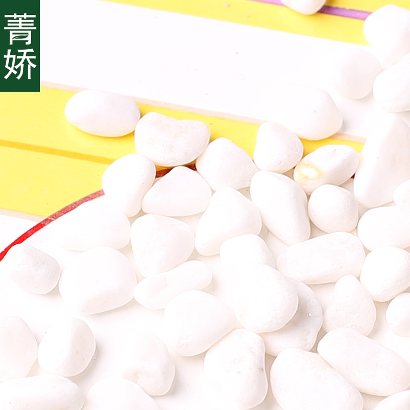 Lavish White Stones for Decoration