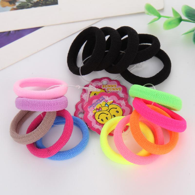 Stretchable Seamless Hair Tie (5 Pieces/Set)