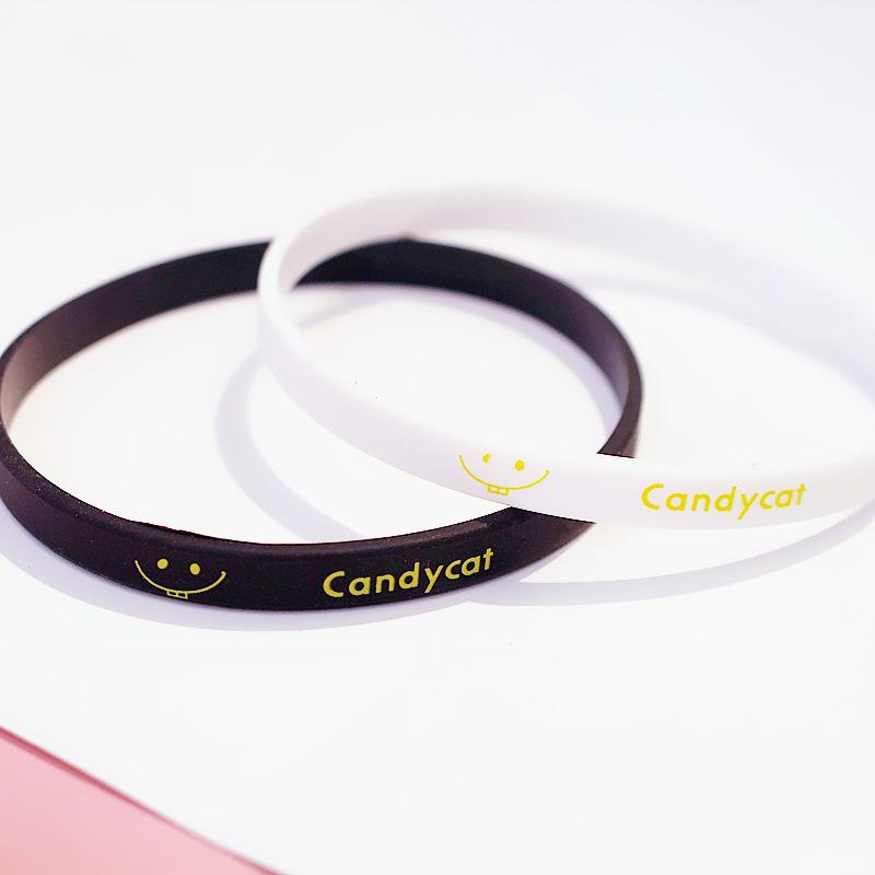 Candy Cat Silicone Bracelet