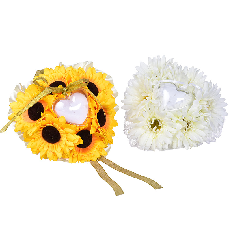 Gertrude Sunflowers and Daisies Fabric Bouquets