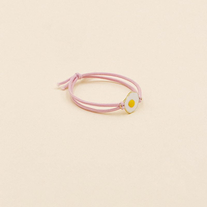 Sunny Side Up Double Layer Hair Tie