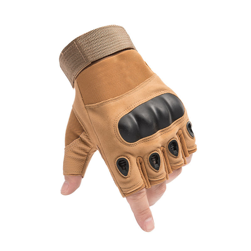 Hard Shell on Microfiber Tactical Gloves