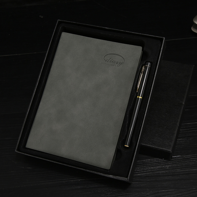 Thick Customized A5 Notebook with Pen for School Notes