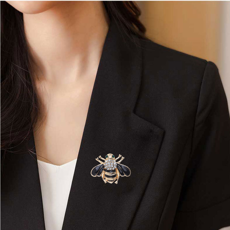 Stunning Queen Bee Brooch for Matching with Formal Coats