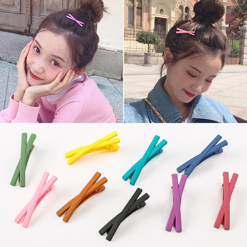 X-Shaped Matte Hair Clip