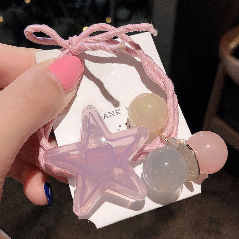 Star and Spheres Bauble Hair Tie