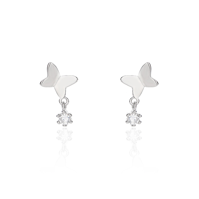 Dainty Butterfly Earrings for Adding Poshness to Outfit