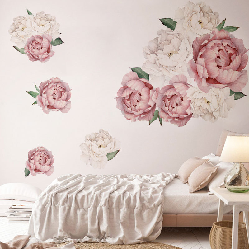 Blossoming Peonies Wall Sticker
