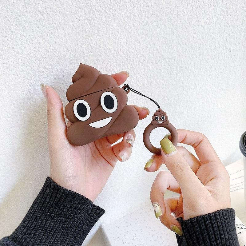 Funny Poop AirPods Case