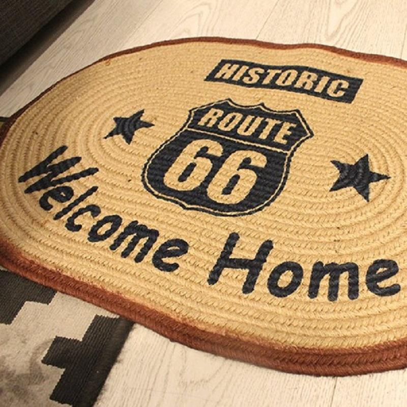 Route 66 Doorstep Mat