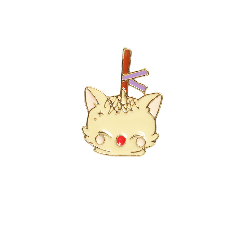Kittens and Food Party Pins for Giveaways