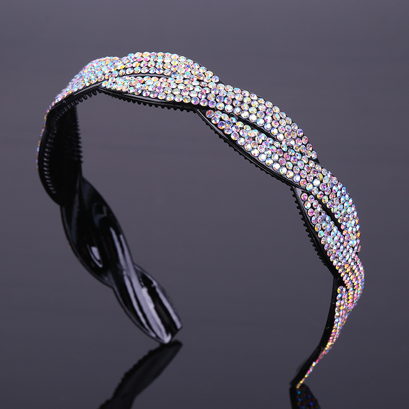 Comely Rhinestone Headband for Keeping Your Hair Intact