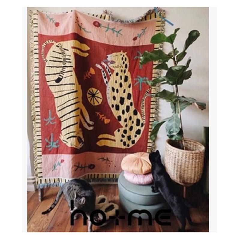 Mountain Big Cat Tapestry