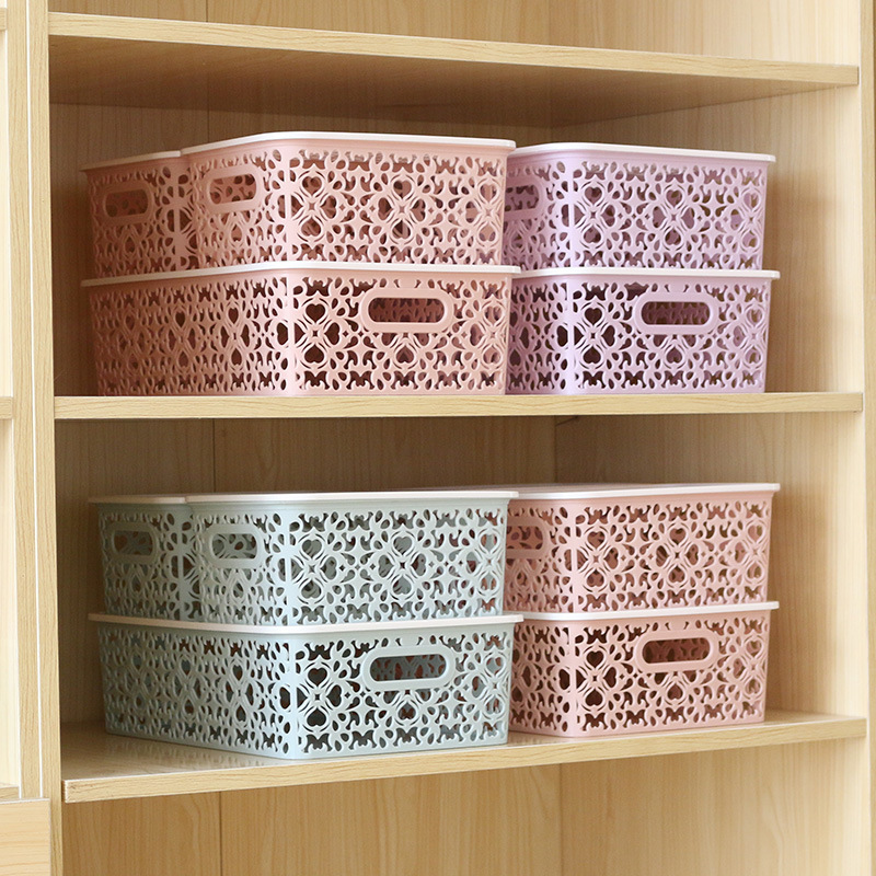 Creative Hollow Storage Box for Organizing House Supplies
