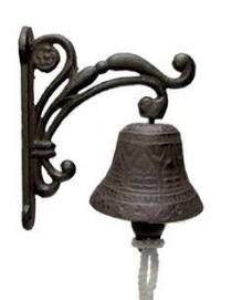 Cast Iron Vintage Doorbell for Home Decoratives