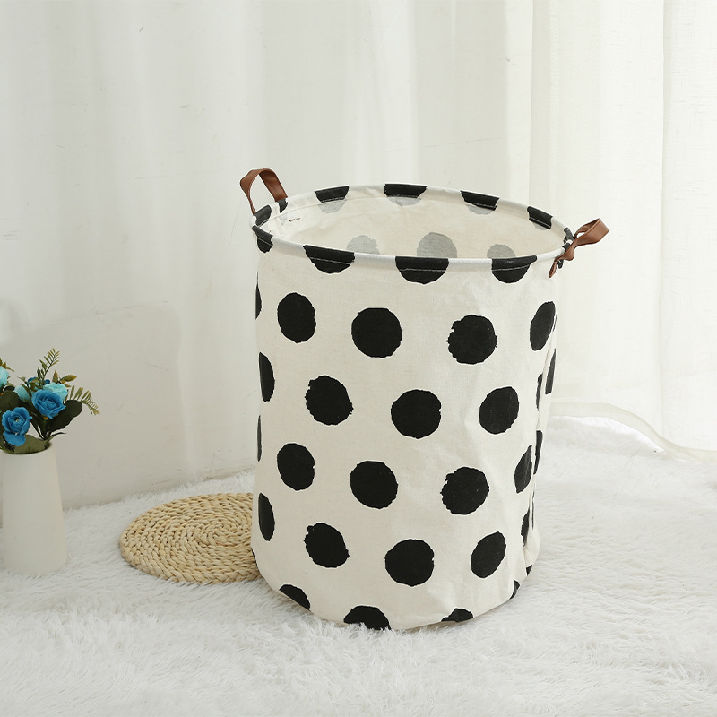 Nordic Style Fabric Laundry Basket for Dirty Laundry
