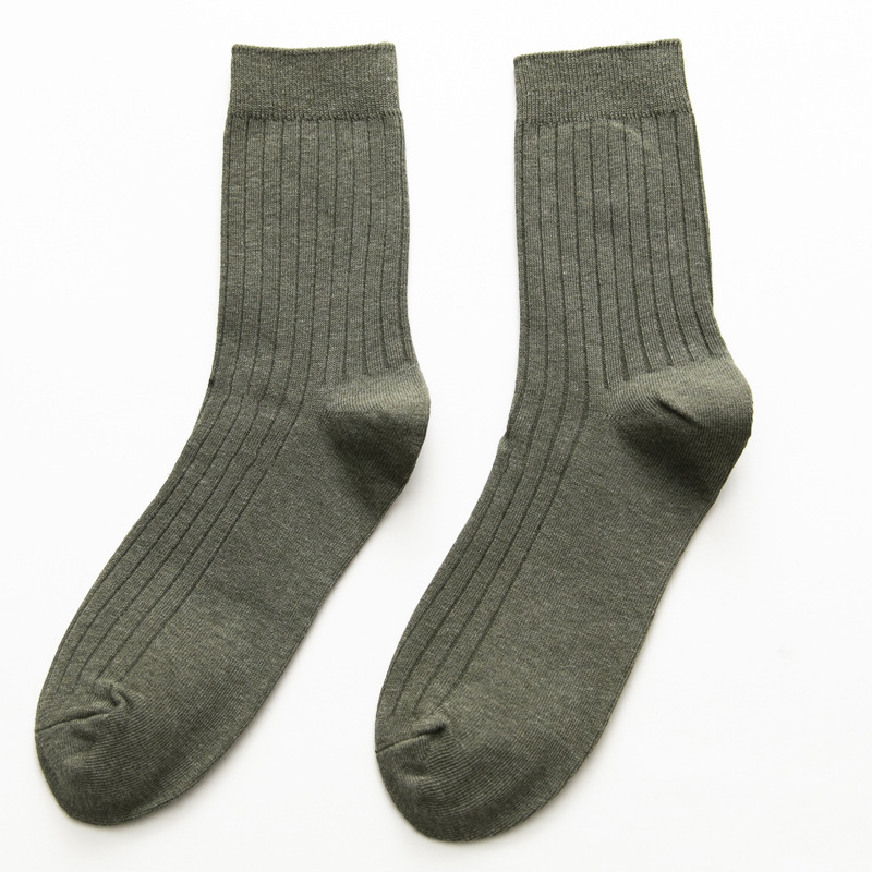 Durable Comb Cotton Earth Toned Socks for Everyday Use