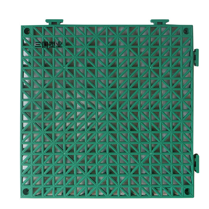 Solidified Vinyl Mesh Mat for Shower Rooms