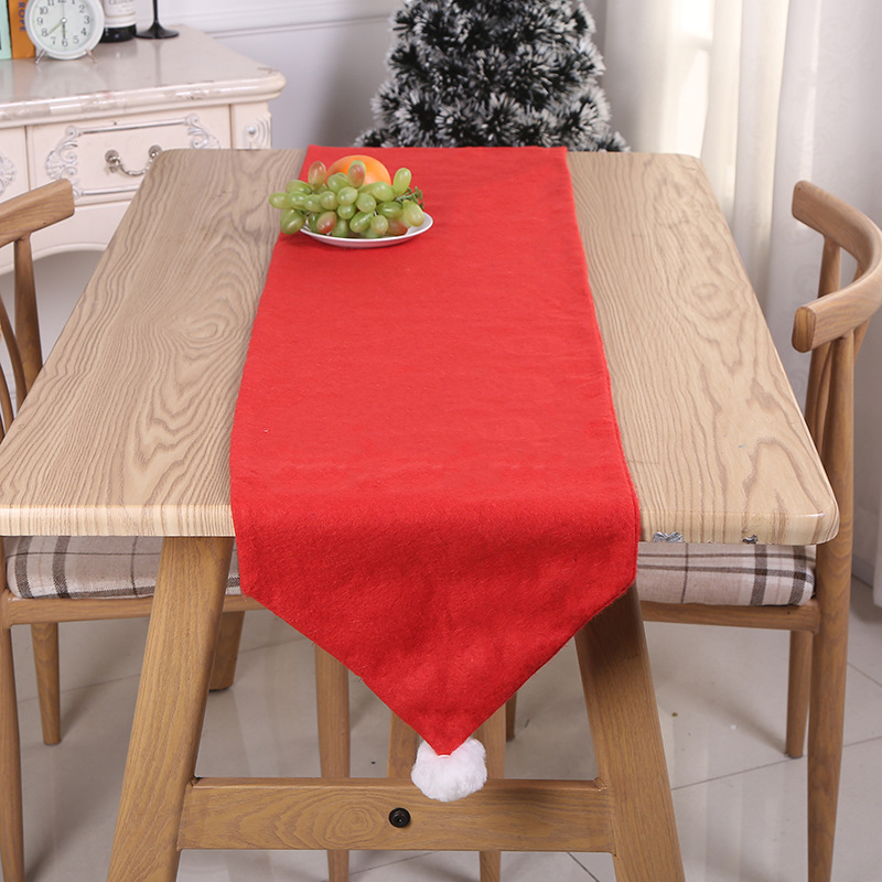 Magnificent Red Table Runner for Holiday Dinners