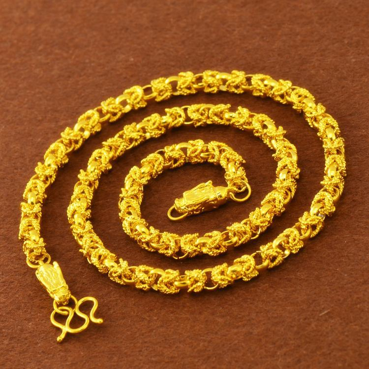 Brass Dragon Rope Chain Neklace for Fierce Outfits