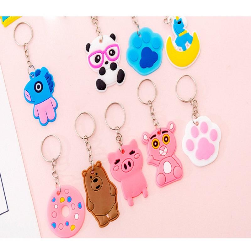 Girly Cute Animals Keychain