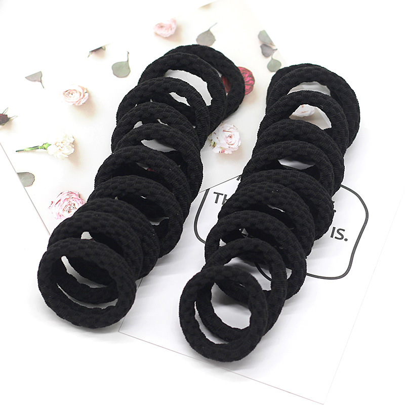 Minimalist Thick Hair Rope for Ladies