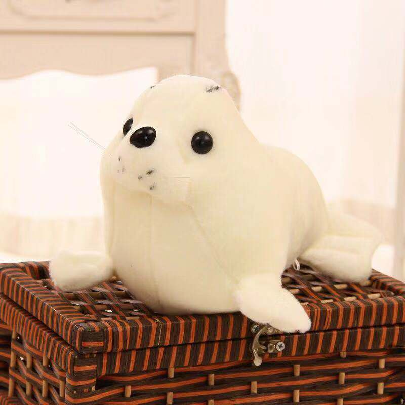 Colored Seal Plushie