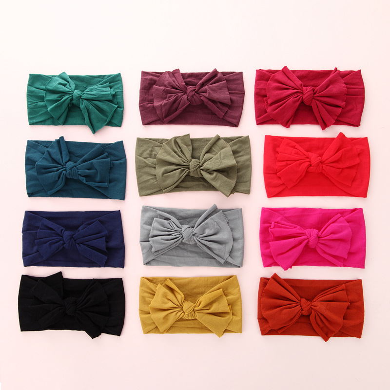 Snappy Stretchable Baby Headband for Baby Hair