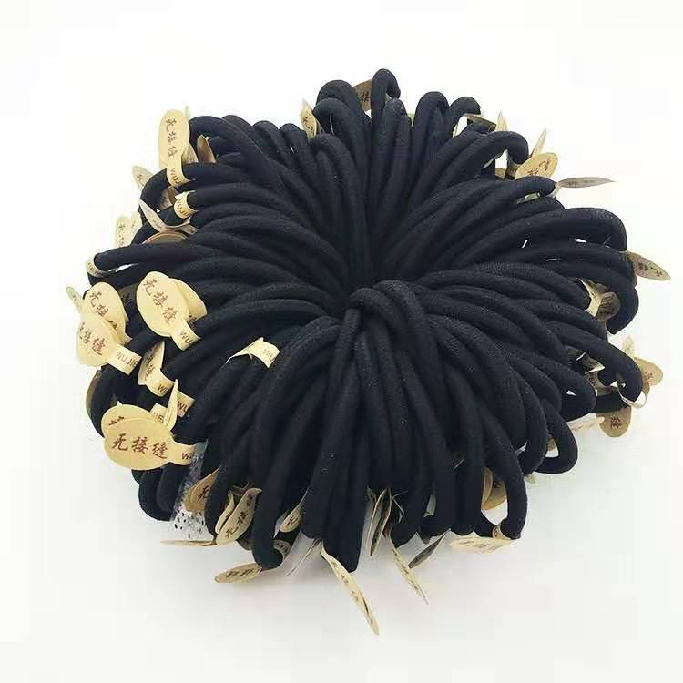 Casual High Elastic Seamless Rubber Band For Hair Accessories