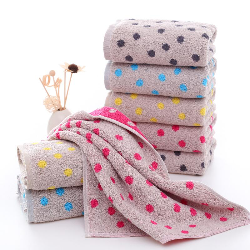 Polka Dots Bath Towel