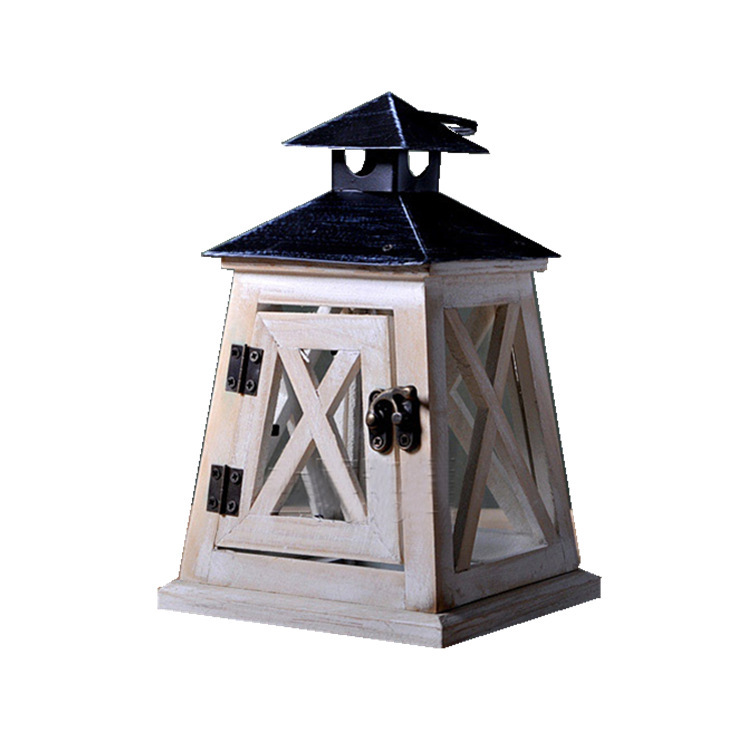 Rustic Lantern Candle Holder for Home Décor