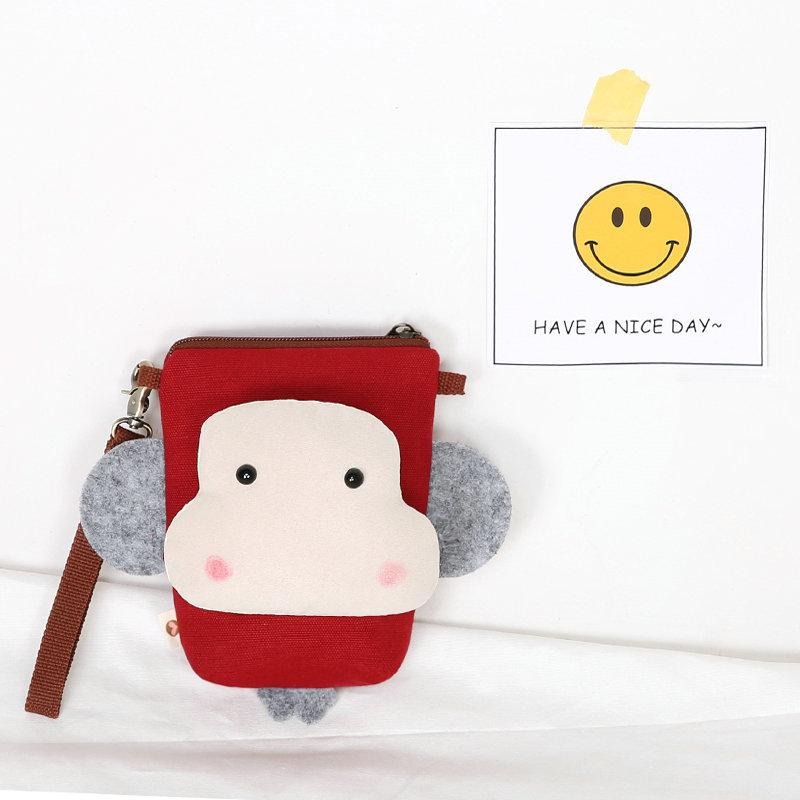Charming Monkey Mobile Phone Bag