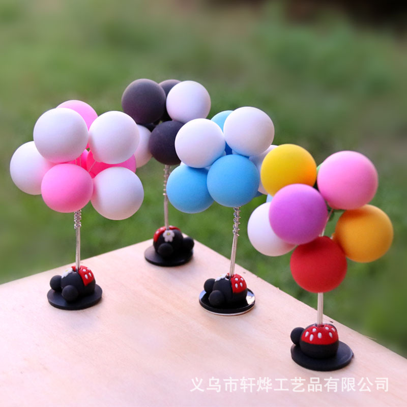 Playful Dancing Balloon Ornament for Car Decoration