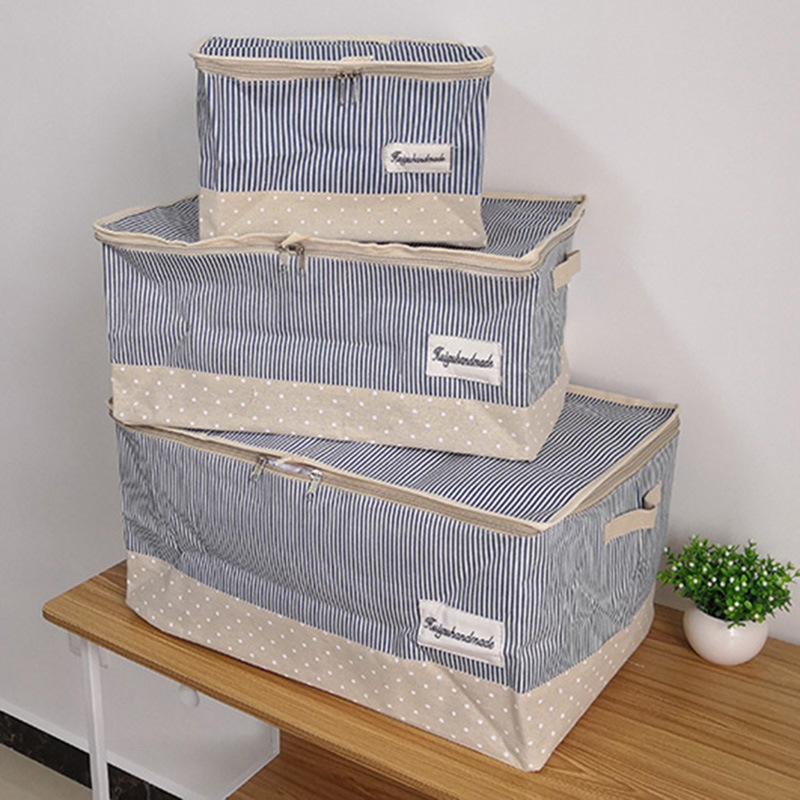 Roomy and Fabricated Storage Box for Clothes