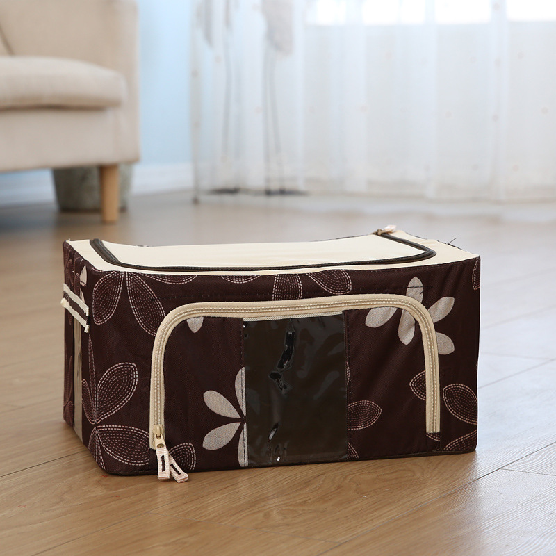 Light Color Folding Steel Storage Box for Clothes