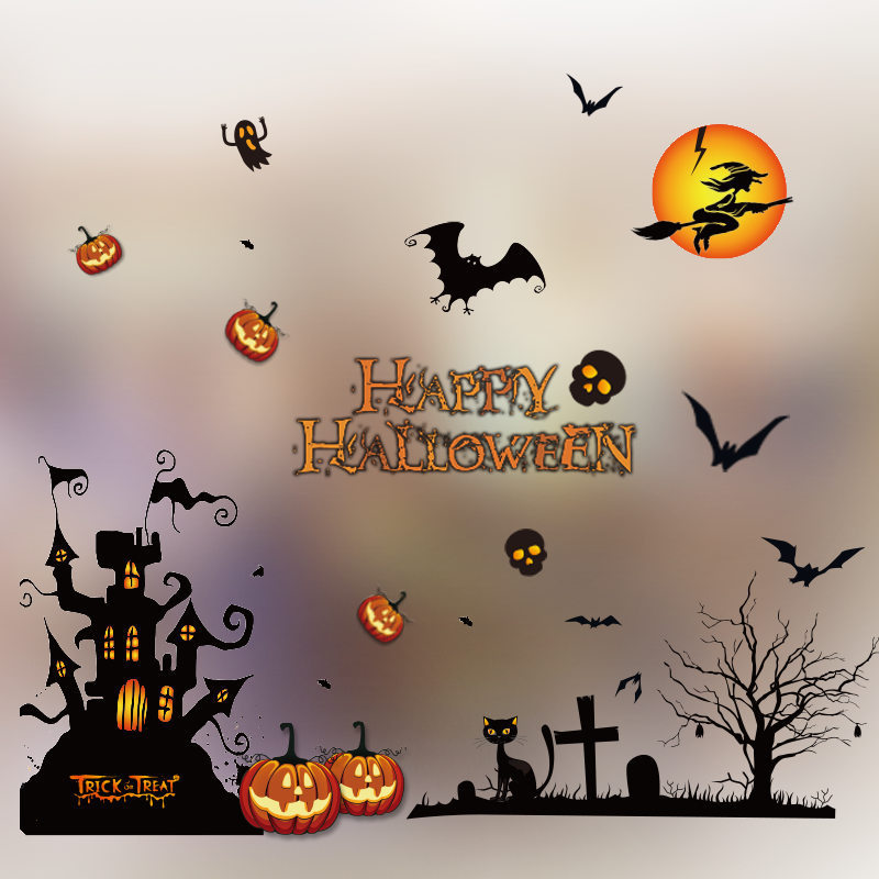 Decorative Wall Stickers for Halloween