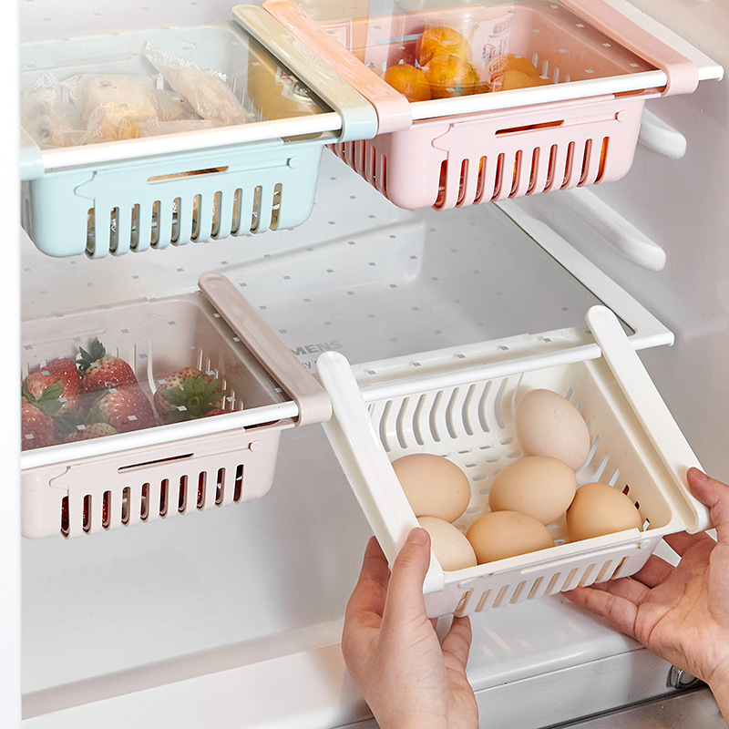 Classic Scalable Drain Storage Drawer for Fruit and Vegetable