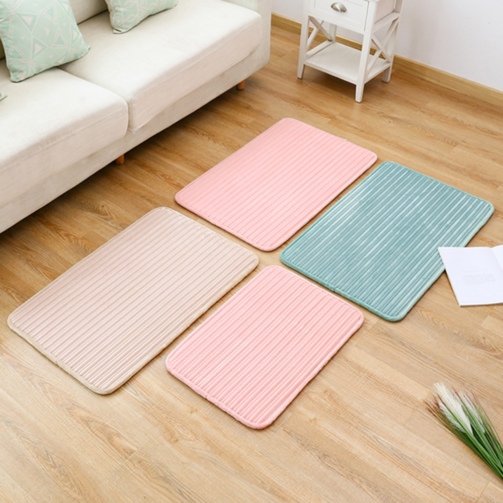 Non-Slip Ribbed Kitchen Floor Mat