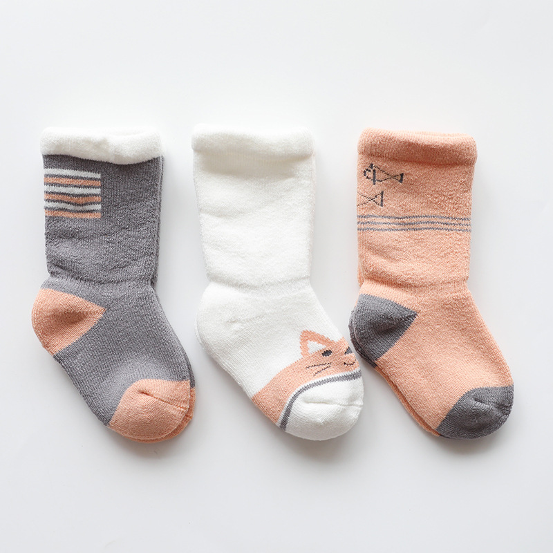 Thick and Warm Children's Socks for Babies