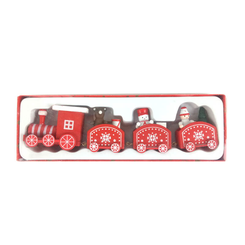 Little Critters' Christmas Train for Tabletop Display