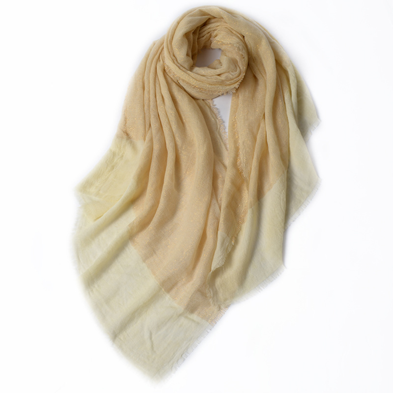 Stylish Faux Cashmere Scarf for Fashionable Winter Streetwear