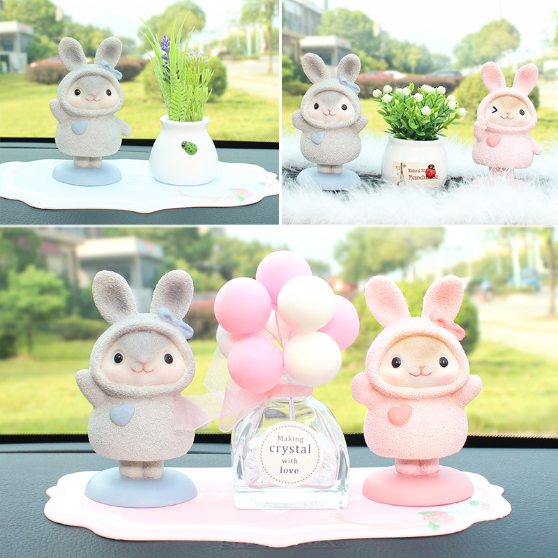 Charming Mouse Resin Car Decor for Car Ornaments