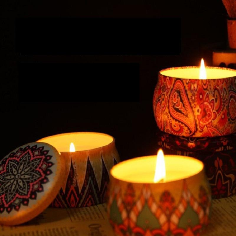 Decorative Soy Wax Candle