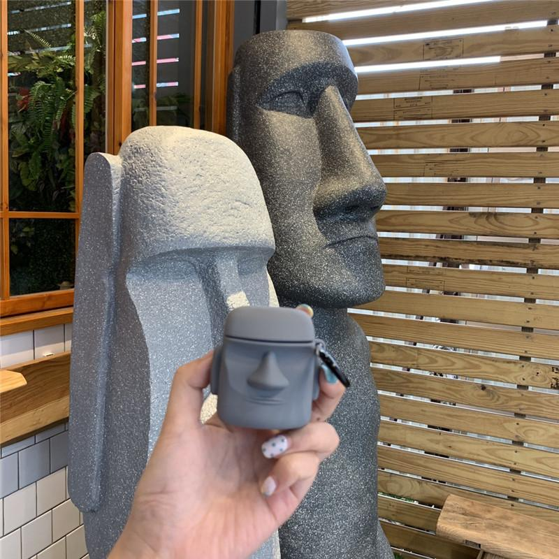 Statue-Like AirPods Case